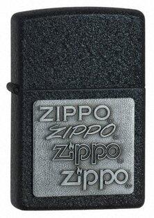 Zapalovač ZIPPO® Black Crackle™