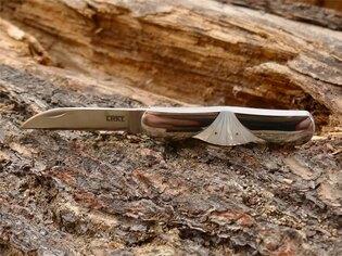 Zatvárací nôž Daedalus™ CRKT® - strieborný