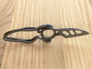 Zatvárací nôž Daktyl™ CRKT® - strieborný