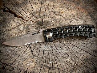 Zatvárací nôž Go-N-Heavy™ Compact CRKT® - čierny