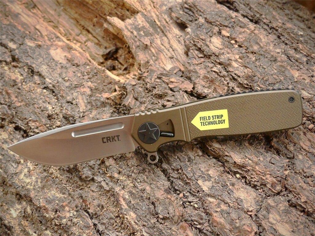 Zatvárací nôž Homefront™ CRKT® - Coyote