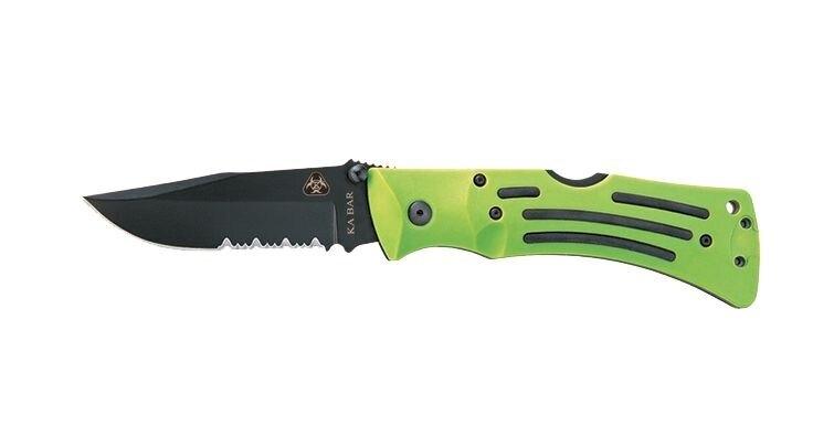 Zatvárací nôž KA-BAR® MULE Zombie® s kombinovaným ostrím