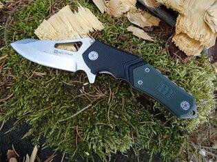 Zatvárací nôž Lansky® Responder Quick Action EDC - čierno-zelený