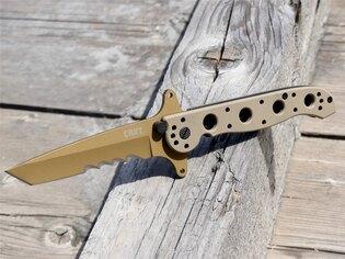 Zatvárací nôž M16-13DSFG Special Forces™ CRKT® kombinované ostrie - Coyote