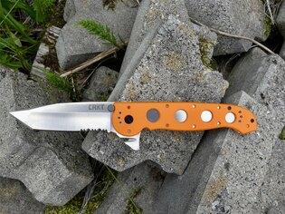 Zatvárací nôž M16-14ZER Rescue™ CRKT® - oranžový