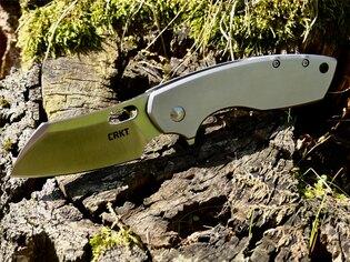 Zatvárací nôž Pilar™ Large CRKT® - strieborný