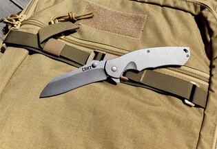 Zatvárací nôž Rasp™ CRKT® - strieborný