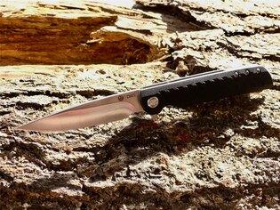Zatvárací nôž Ruger LCK™ CRKT® - čierny