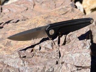 Zavírací nůž ANV® Z300 s kombinovaným ostřím G10 Liner Lock