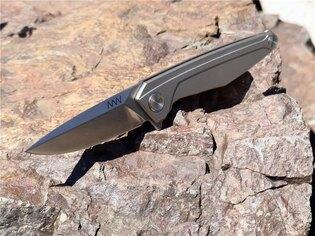 Zavírací nůž ANV® Z300 Titanium Frame Lock