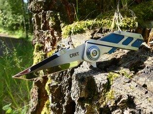 Zavírací nůž Deviation™ CRKT® - modrý