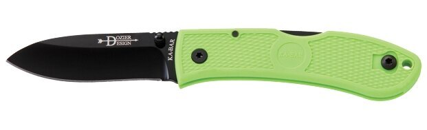 Zavírací nůž KA-BAR® 4062ZG – Dozier Folding Hunter – zombie green