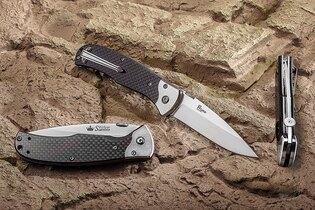 Zavírací nůž KIZLYAR SUPREME® Prime Carbon Fiber D2