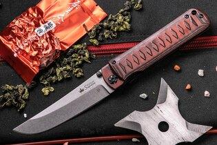 Zavírací nůž KIZLYAR SUPREME® Whisper D2