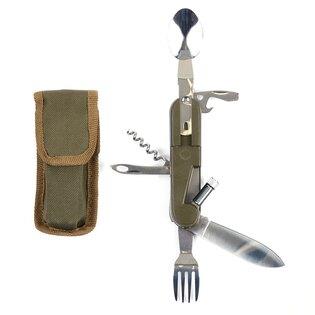 Zavírací nůž, multifunkční příbor FOSCO® se světlem