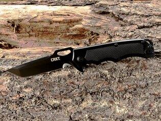 Zavírací nůž Septimo™ CRKT® - černý