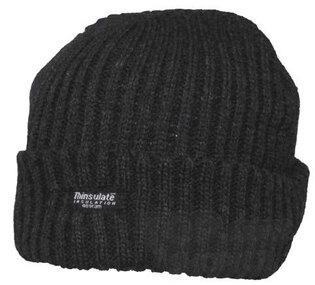 Zimná čapica Aljaška Thinsulate® PRO COMPANY® - čierna